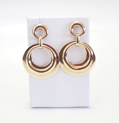 Chad Chic Round Earrings