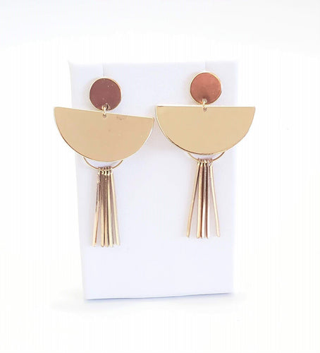 Benin Gold Earrings