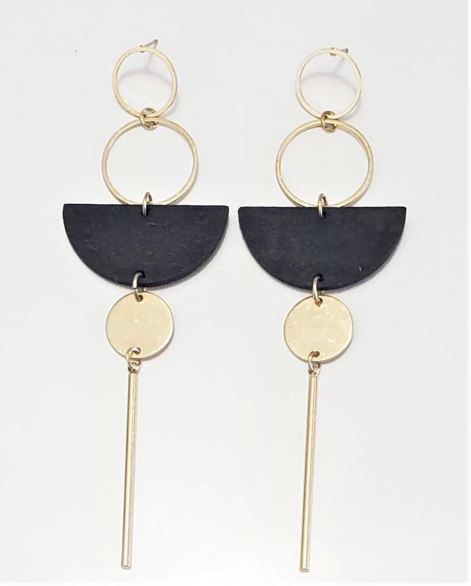 Benin beauty drop earrings