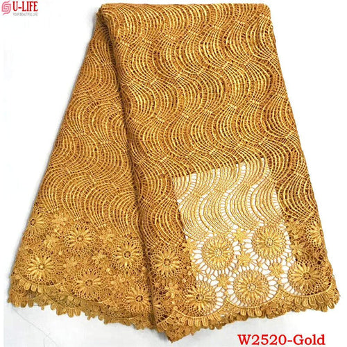 Guipure Lace Fabric - Many colors available
