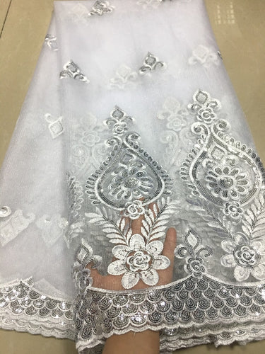 Sequins Embroidery Lace - Many colors available
