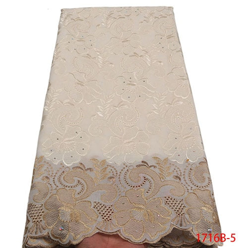 African Dry Lace Fabric - Many colors available