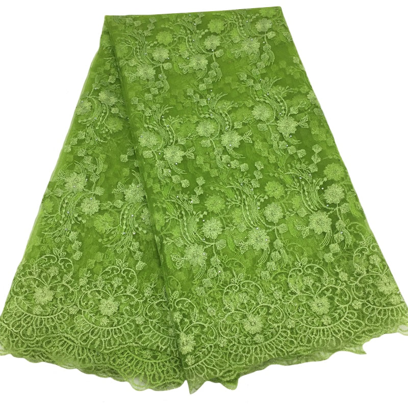 Dazzling French Lace Fabrics - Many colors available