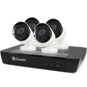 Swann SWNVK-874504-UK 8 Channel Security System: 2B HDD & 4 x 5MP Bullet Cameras