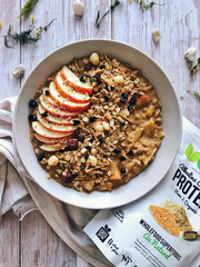 Apple Molasses Oats