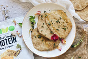 Healthy & Vegan Savoury Naan Bread Recipe!
