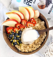Oats with Coconut Almond Yoghurt