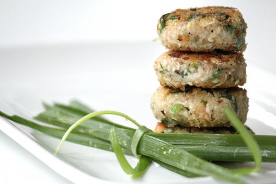 Daikon Patties