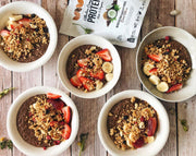 Chocolate Quinoa Bowls