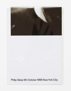 Philip Glass, 5th October 1995 New York City by Victor Boullet
