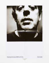 Load image into Gallery viewer, Philip Glass, 5th October 1995 New York City by Victor Boullet