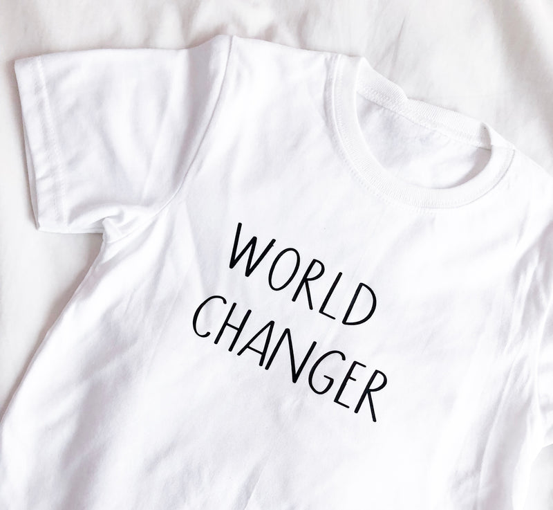 World Changer Mini T-shirt