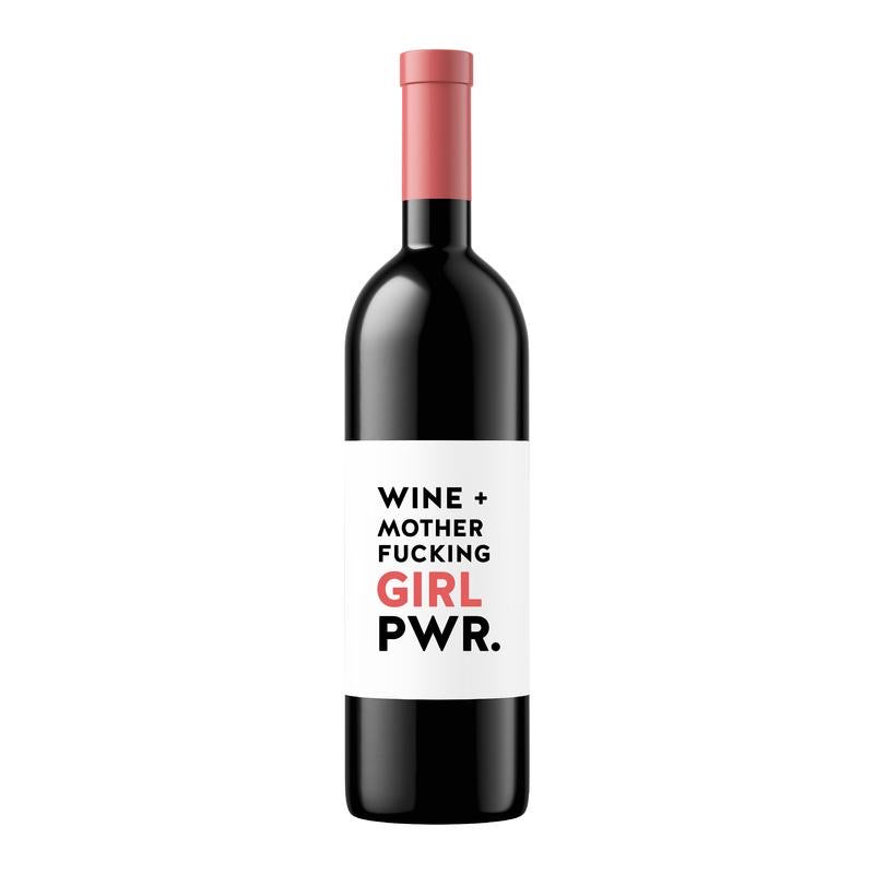 Girl Power | Wine Label