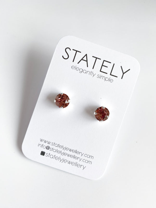 Mini Chaton Studs - 8.5mm