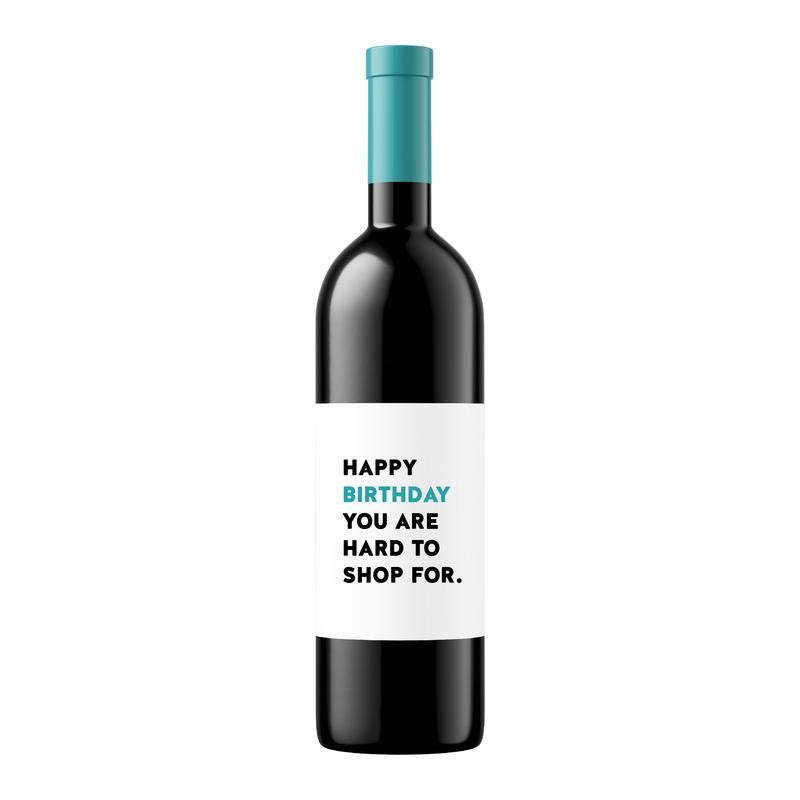 Happy Birthday| Wine Label