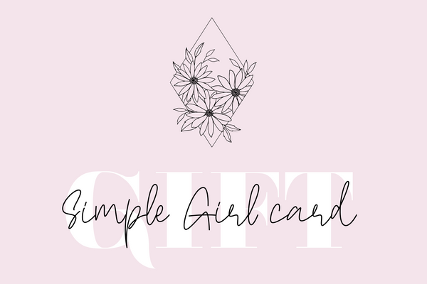 Simple Girl Gift Card