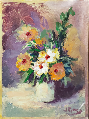 Flower Arrangement - Acrylic Painting