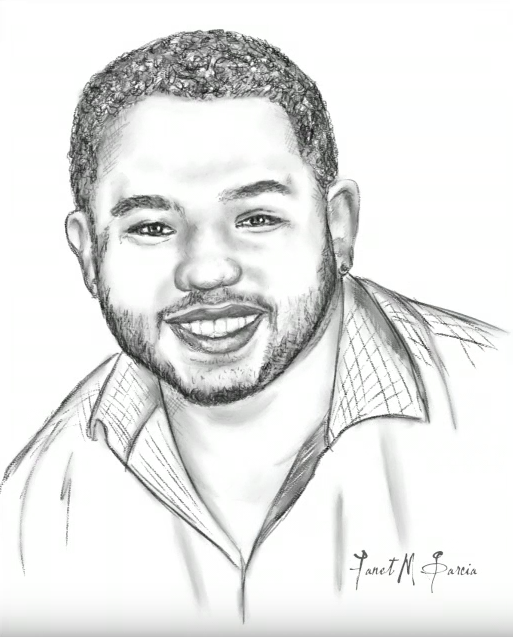 Portrait Drawing - Jose