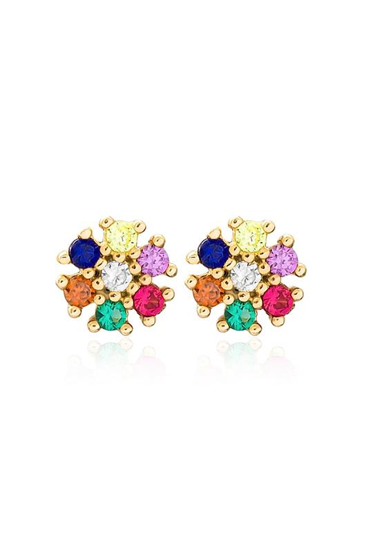 Astrid Cluster Earrings Jewellery Maia & Cecile