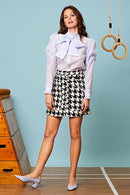 Audrey Tiered Organza Bow Blouse Clothing Sister Jane