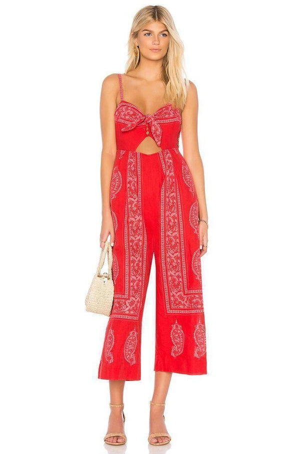Feel The Sun Jumpsuit Clothing Free People OB793522-UK4 UK 4