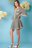 Marble Bud Tweed Mini Dress Clothing Sister Jane