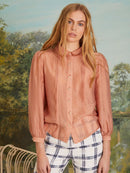 Simply Silvi Sheer Blouse Clothing Sister Jane