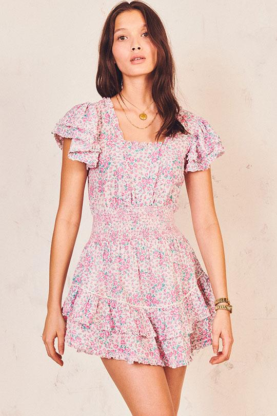 Stanton Mini Dress Clothing LoveShackFancy