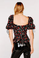 Tainted Button Front Top Clothing For Love & Lemons