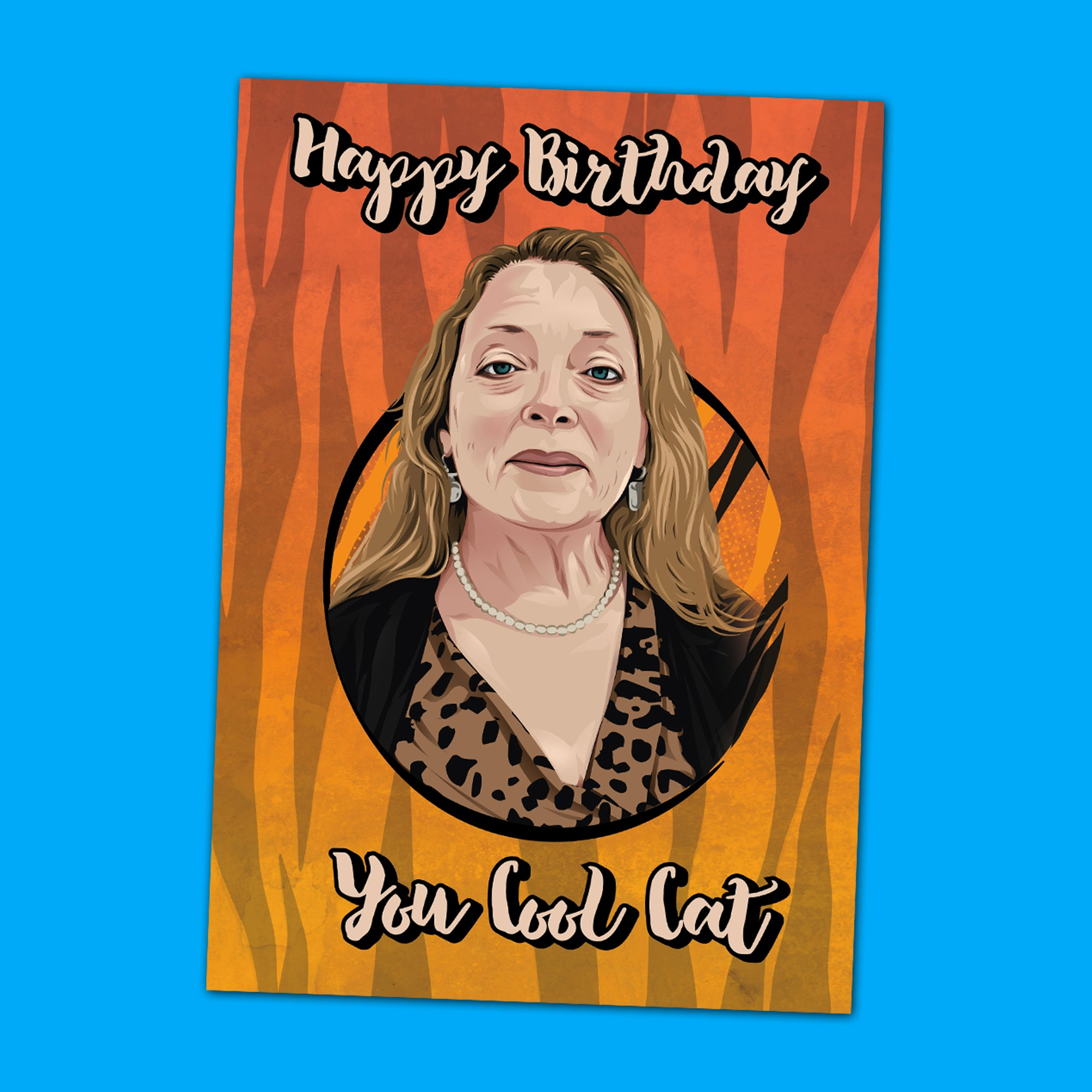 Carole Baskin Birthday Card