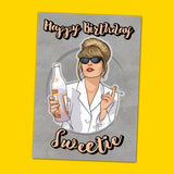 Patsy Stone Birthday Card