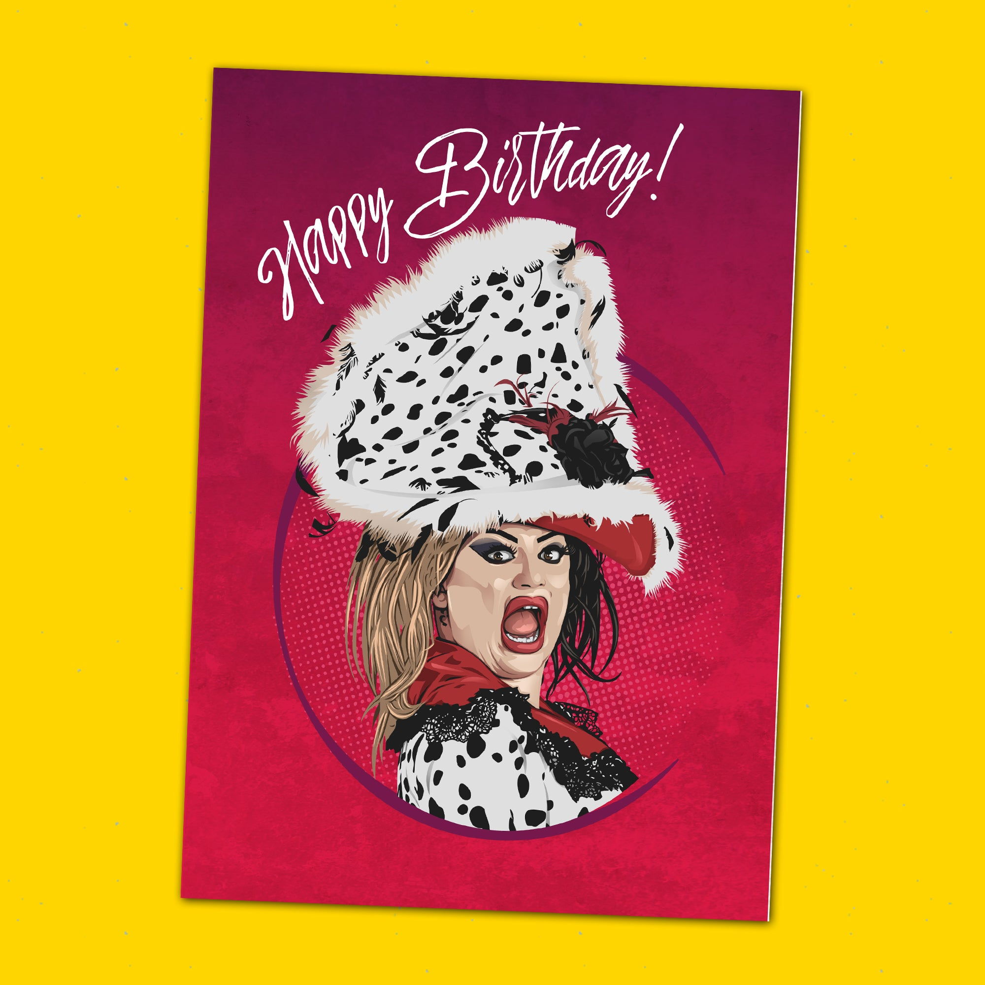 Baga Chipz Greeting Card