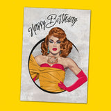 Miss Vanjie Birthday Card Greeting Card