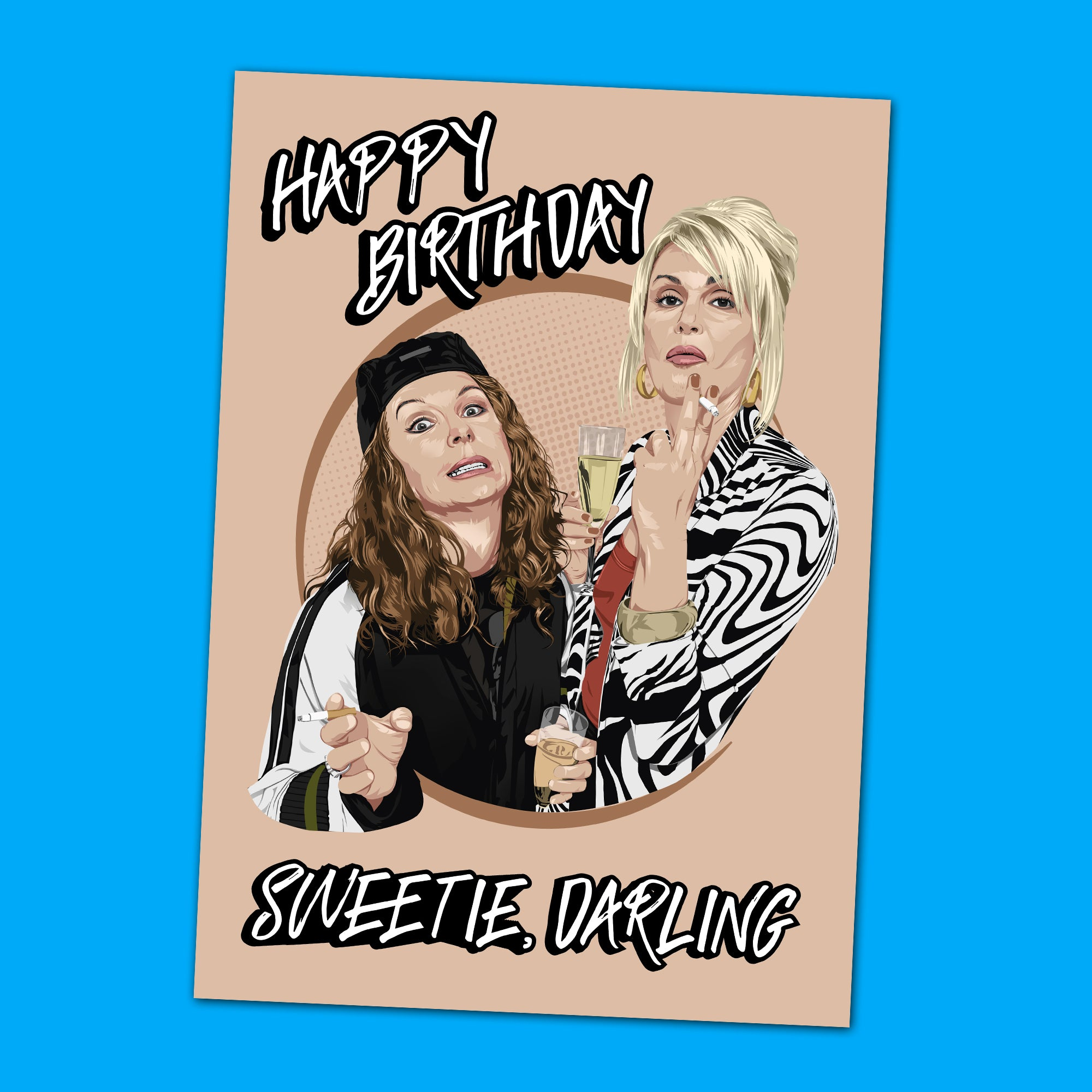 Absolutely Fabulous Birthday Card