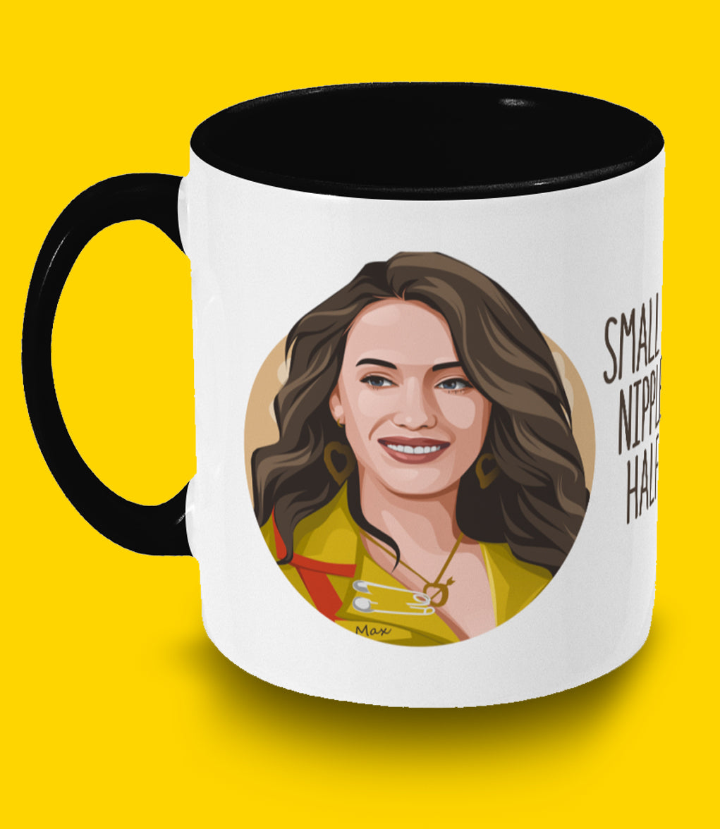 Two Broke Girls Max - Two toned mug