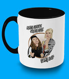 Absolutley Fabulous Black Mug