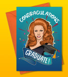 Condragulations Graduate Card