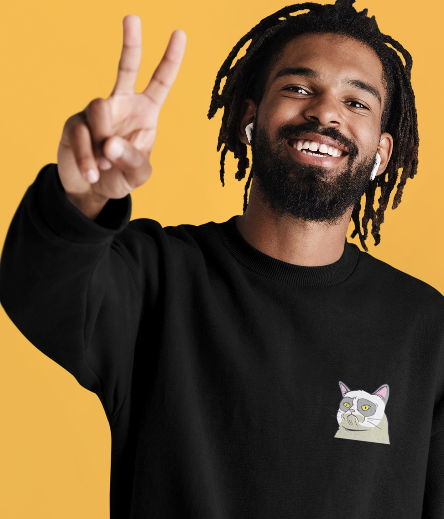 Cat Meme Sweatshirt