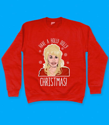 Dolly Parton Christmas Sweatshirt