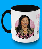 Kat Slater, Total Slag, Eastenders, Two Toned Mug, Rude and Crude