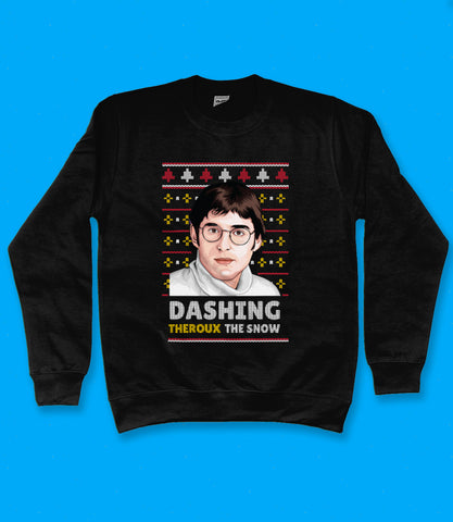 Louis Theroux Christmas Sweatshirt