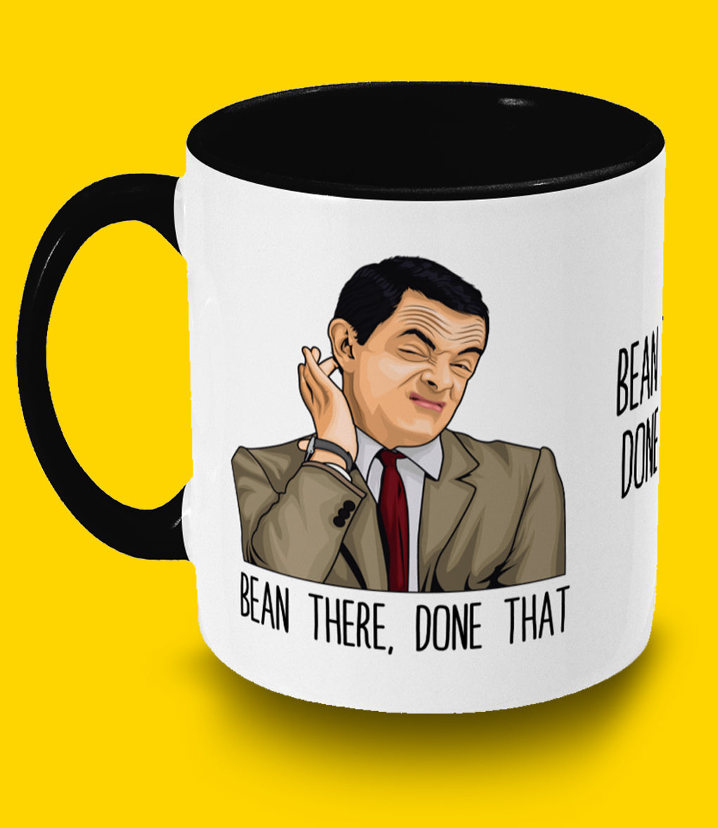 Mr Bean Two Toned Mug