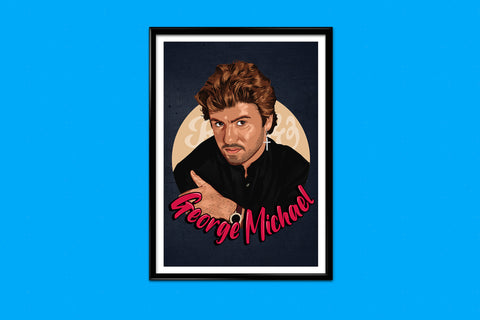 George Michael Matt Print