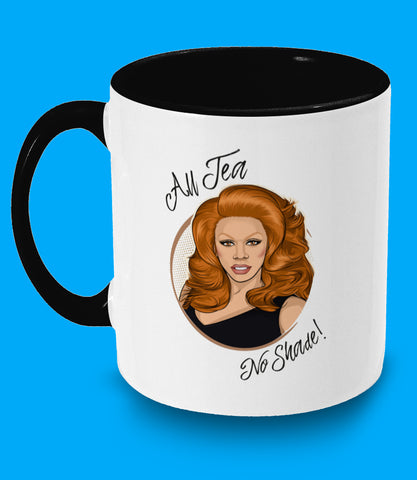 Rupaul All Tea No Shade Mug