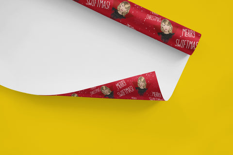 Taylor Swift Christmas Wrapping Paper
