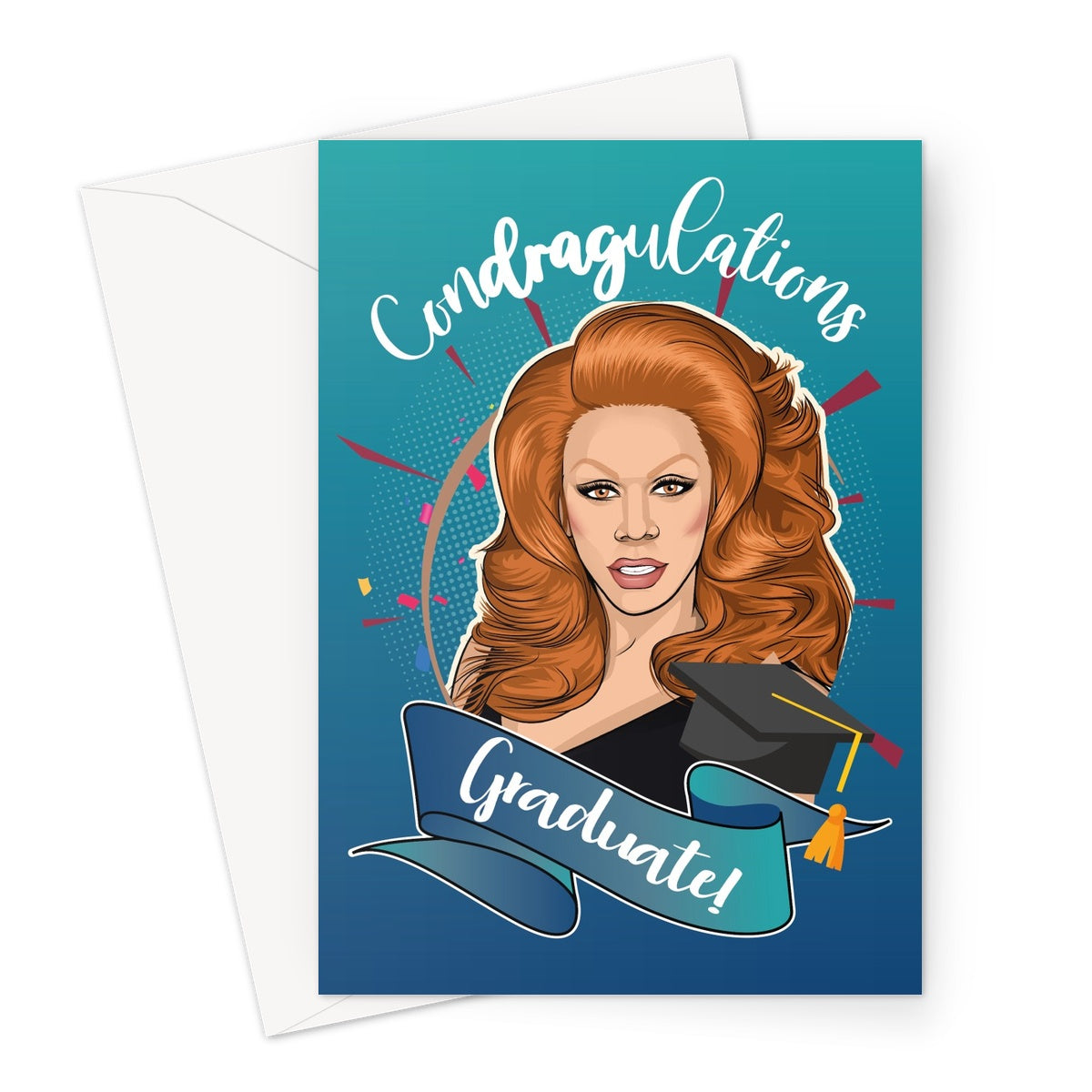 Condragulations Card Greeting Card