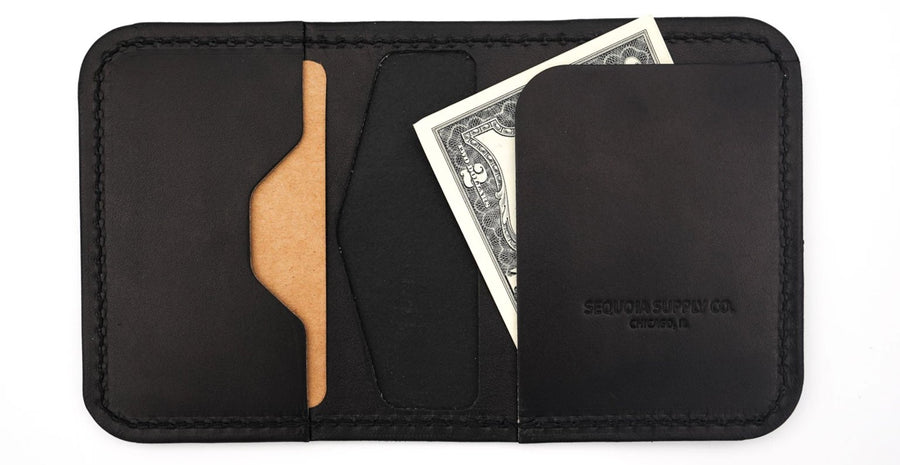 Pine Wallet - Black - Sequoia Supply Co.
