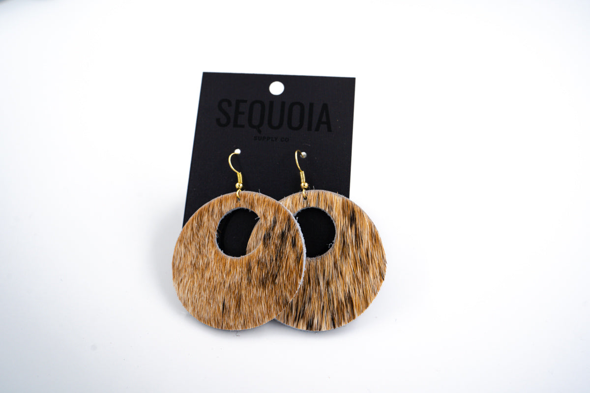 One Hour Earring - Tan Speckled/Nova - Sequoia Supply Co.
