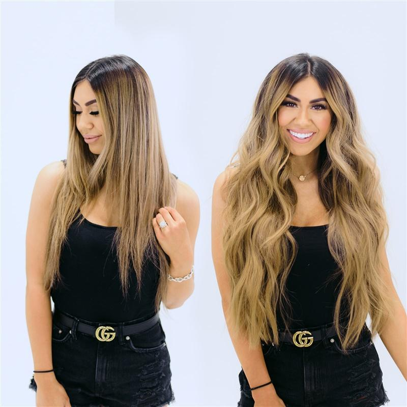 #2/8 Ombré   |   Machine Weft Extensions