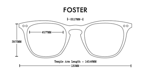 Foster Eco RX Wood Optical Frames - Branched